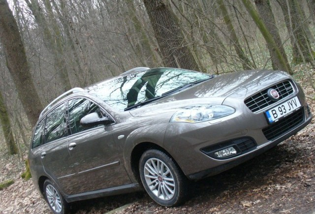 Drive-test cu Fiat Croma