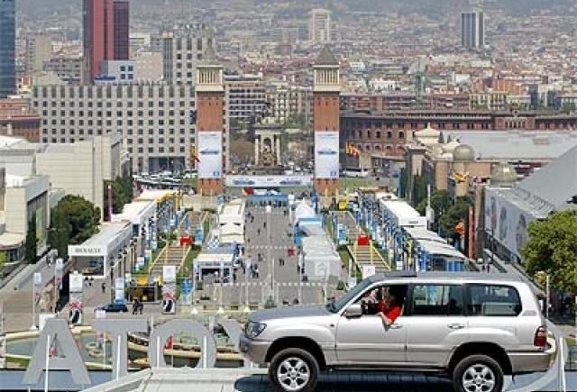 Salonul Auto de la Barcelona, salvat de guvernul spaniol