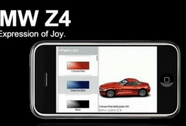 BMW a lansat jocul Z4 pentru iPod si iPhone