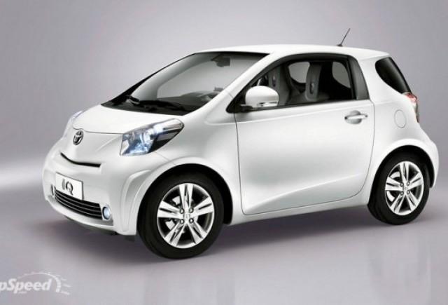 Toyota iQ vine in Romania in mai