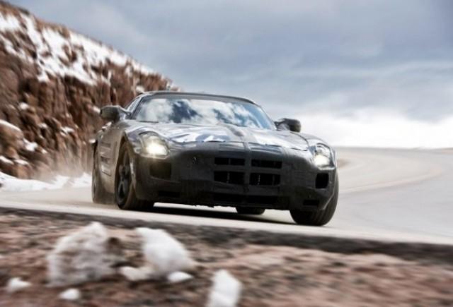 Oficial: Noul Mercedes SLS AMG