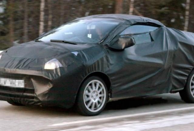Renault Twingo CC spionat la teste in Suedia!