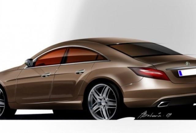 Asa va arata Mercedes-Benz CLS ?
