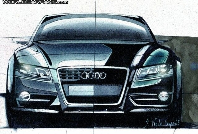 Audi S4 si S5 ar putea primi motoare cu 4 cilindri in 2014!