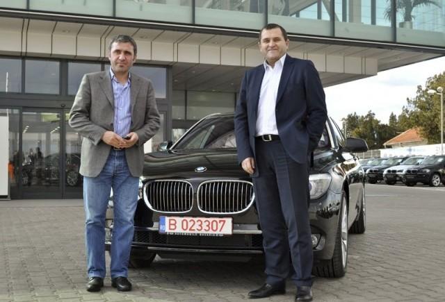 Hagi a primit noul BMW 750 Li
