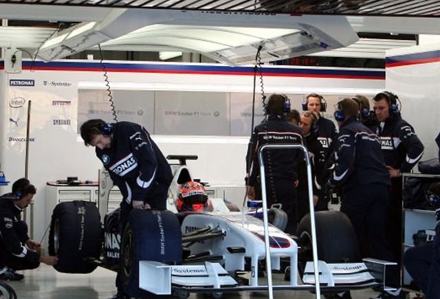 BMW-Sauber, primii la tehnologia KERS in Formula 1