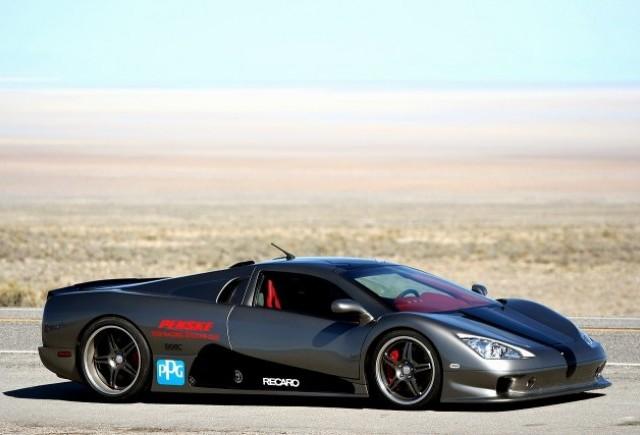 Cea mai rapida masina din lume este de vanzare