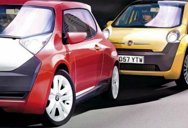 Surprize pe segmentul mic: BMW Isetta si Fiat Topolino