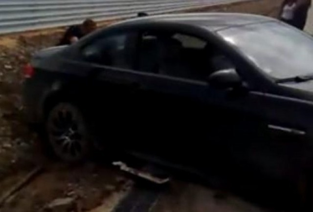 VIDEO: Cum sa nu tractezi un BMW M3