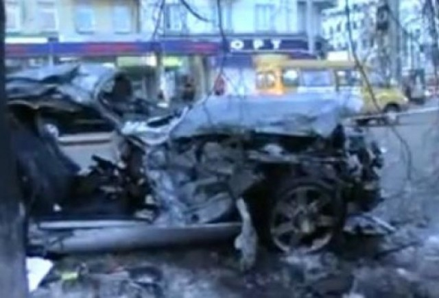 VIDEO: Accident teribil intr-o intersectie din Rusia