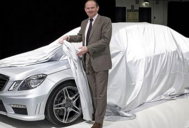 Mercedes a lansat o imagine de presa cu E63 AMG!