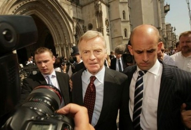 Max Mosley revine in forta!