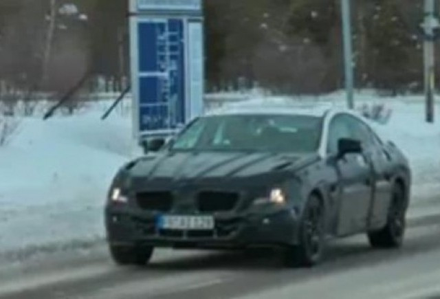 VIDEO: Mercedes CLS, spionat in teste