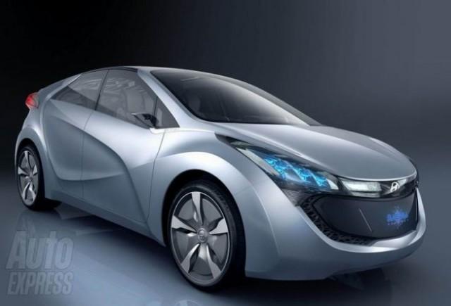 Hyundai BLUE-WILL hybrid concept