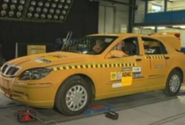VIDEO: Un model chinezesc nu face niciun punct la testul de siguranta