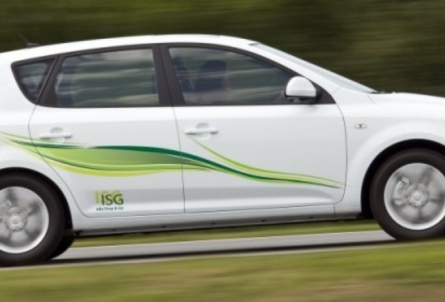 In  premiera europeana, sistemul ISG de pe Kia cee'd este oferit gratuit