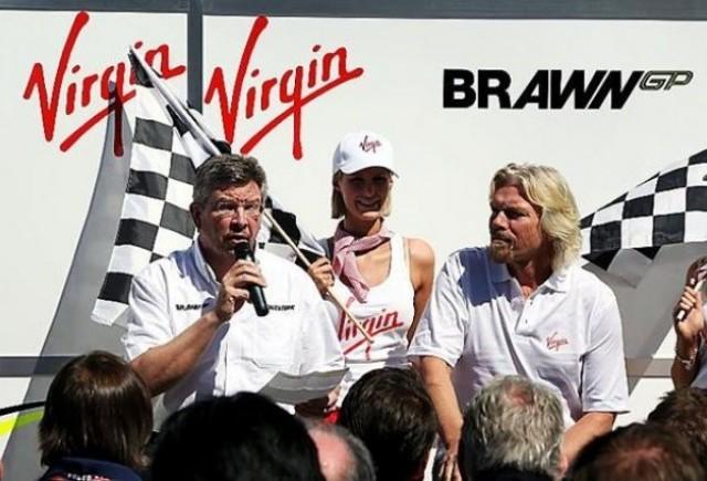 Brawn GP anunta un parteneriat cu Virgin!