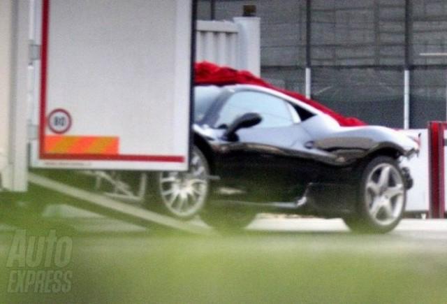 Imagini spion: Ferrari F450