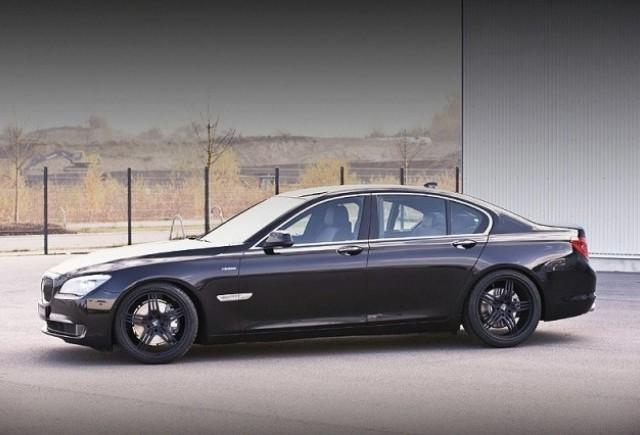 Primele imagini cu BMW Seria 7 Hamann!