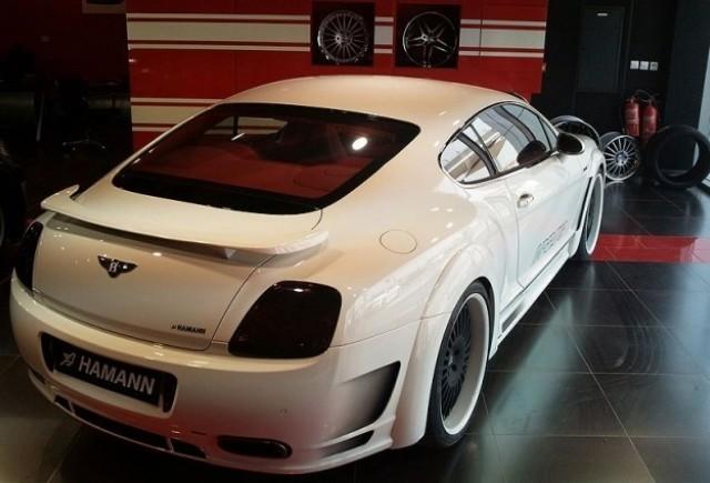 Imagini cu Hamann Imperator bazat pe Bentley Continental GT Speed!