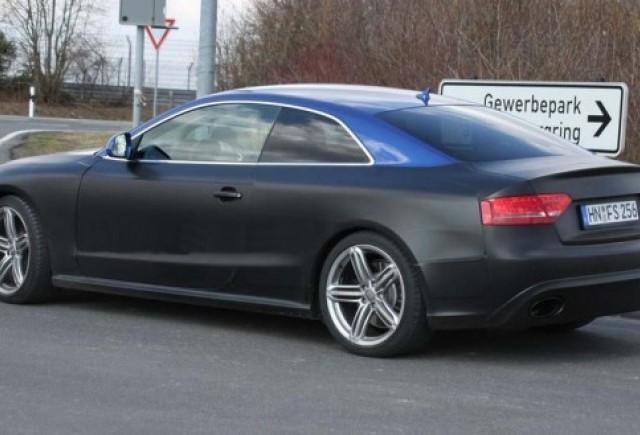 Audi continua testele modelului RS5 odata cu inceperea primaverii!