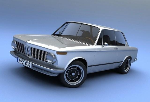 Vizualtech plateste tribut modelului BMW 2002!