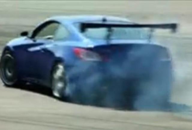 VIDEO: Drifturi cu Hyundai Genesis Coupe