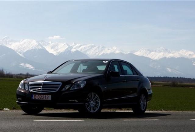 Noul Mercedes Clasa E