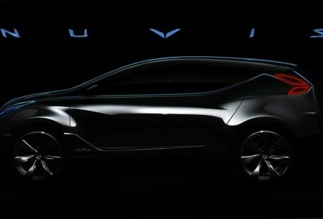 Hyundai a lansat o imagine de presa cu conceptul Nuvis!