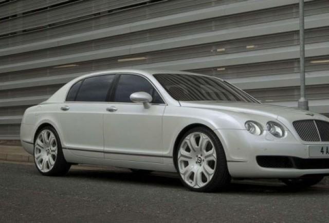 Bentley Flying Spur alb perlat!