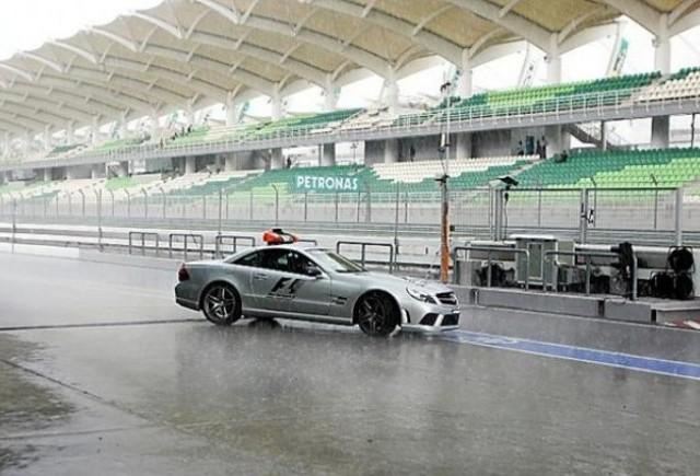 Pilotii se tem ca va fi o cursa pe ploaie la Malaezia