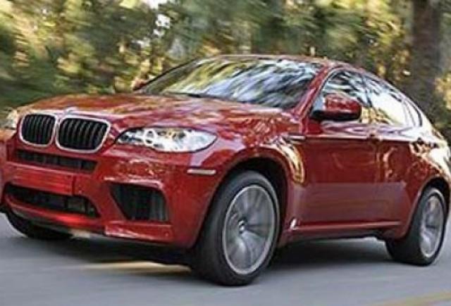 Imagini oficiale cu BMW X6 M