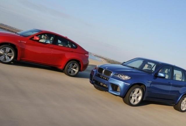 BMW X5 M si X6 M: detalii si poze oficiale
