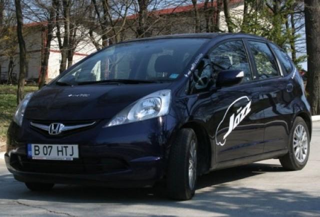 Drive-test cu Honda Jazz