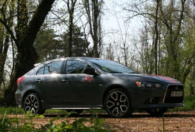 Drive-test cu Mitsubishi Lancer Sportback