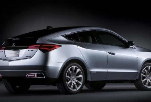 Conceptul Acura ZDX dezvelit la New York