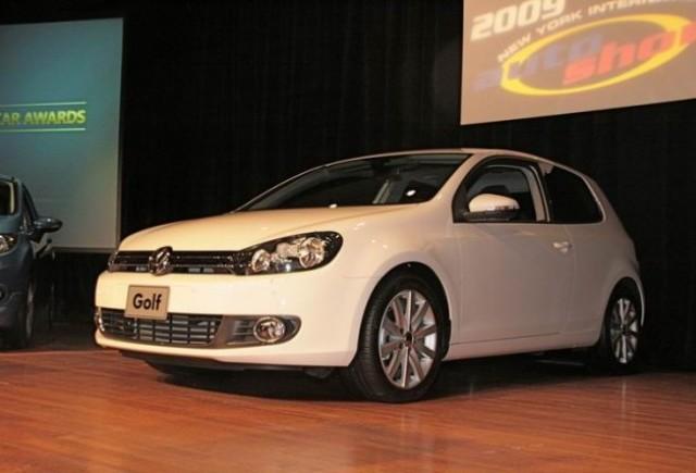 VW Golf castiga titlul Masina Anului 2009