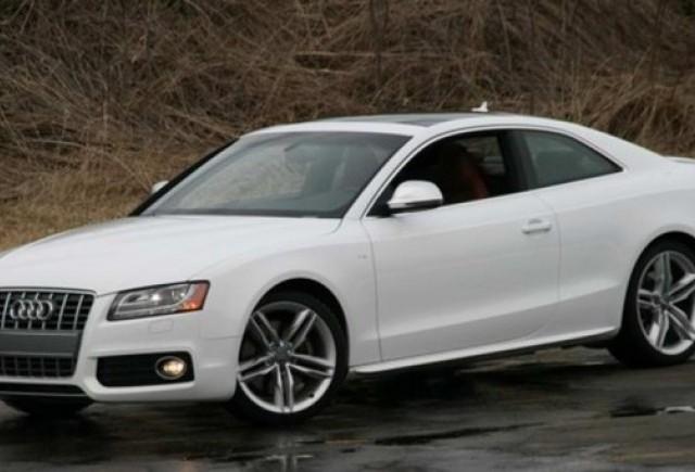 Audi RS5, pe ultima suta de metri