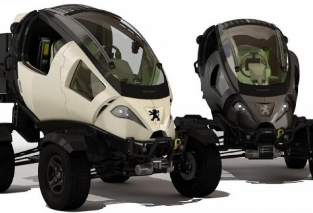 Peugeot Capsule Concept realizat de Alp Germaner