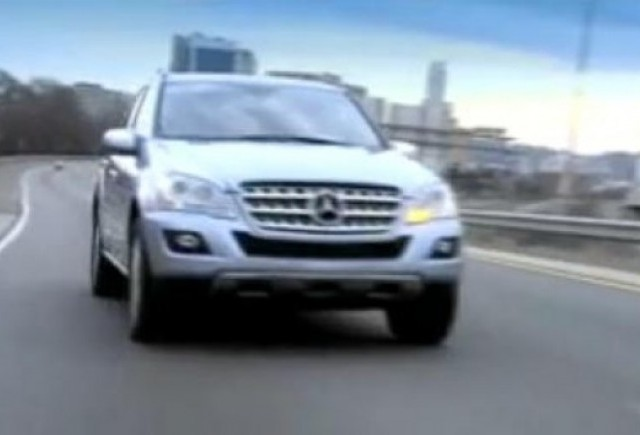 VIDEO: Noul Mercedes ML450 HYBRID