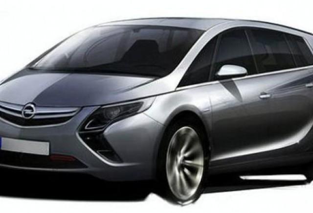 Prima schita cu noul Opel Zafira