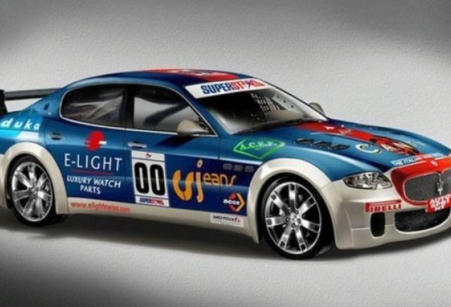 Maserati Quattroporte va concura in Superstars Series