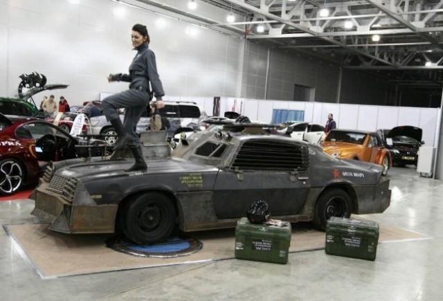 Chevrolet Camaro inspirat din Death Race prezentat la Moscova