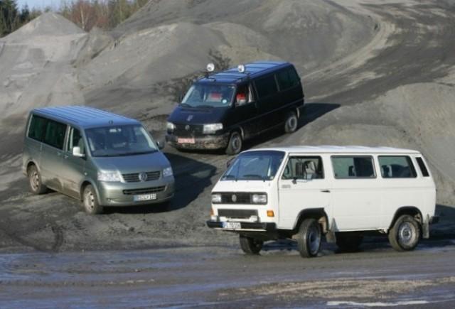 VW celebreaza 30 de ani de la nasterea lui Transporter