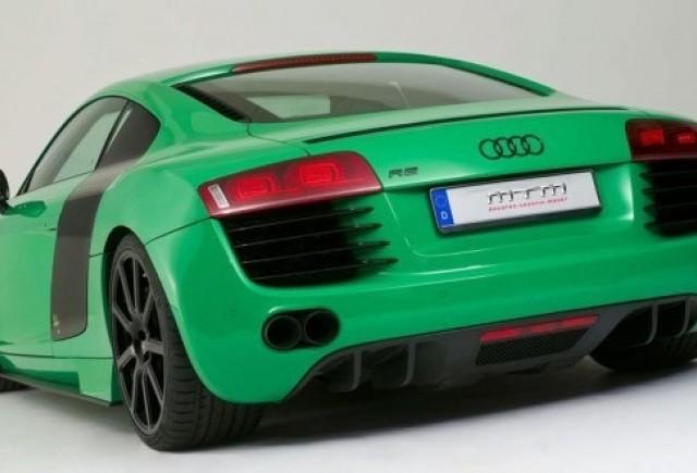 MTM Audi R8 in verde si 560 CP
