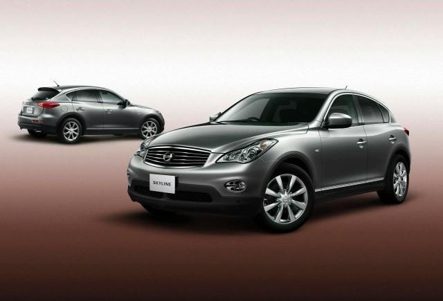 Nissan Skyline Crossover va fi lansat in Japonia in aceasta vara