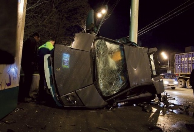 Al treilea Lamborghini distrus in ultima luna