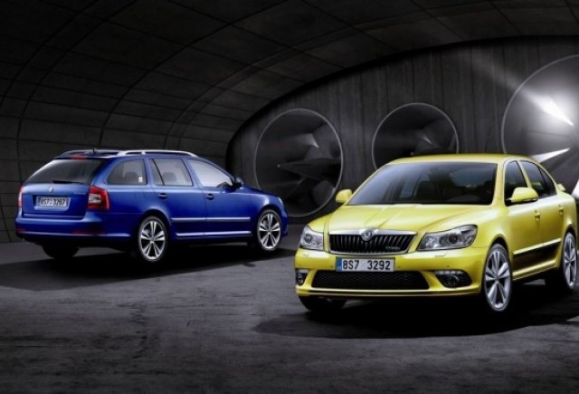 Premiera: Facelift la Skoda Octavia RS si Scout