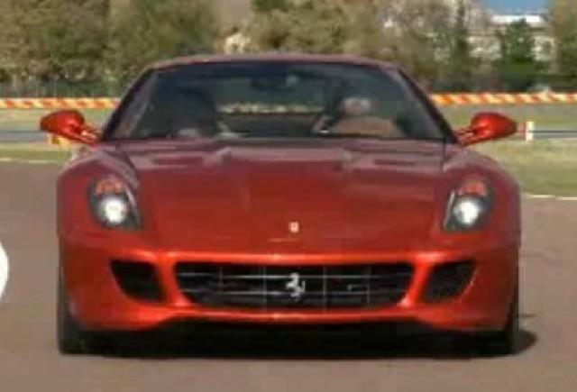 VIDEO: Autocar testeaza Ferrari 599 HGTE