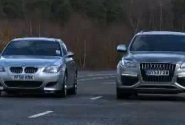 VIDEO: Audi Q7 V12 vs. BMW M5